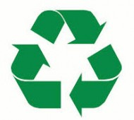 Annual Recycling Rates improve year on year! Over 98 tonnes of waste diverted from Landfill