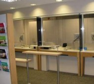 Refurbishment works at Nat West Bank Upminster