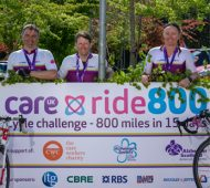 Ruggles & Jeffery Ltd Delighted to Support Care Ride 800